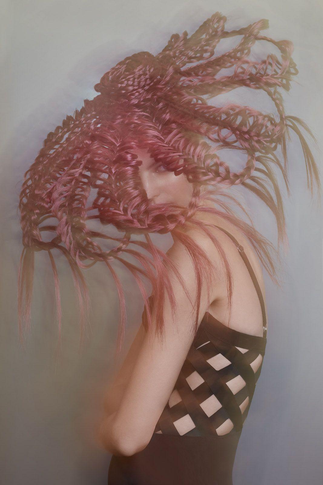 AvantGarde Braid, Hairstyles,braided hairstyles, hairart ...