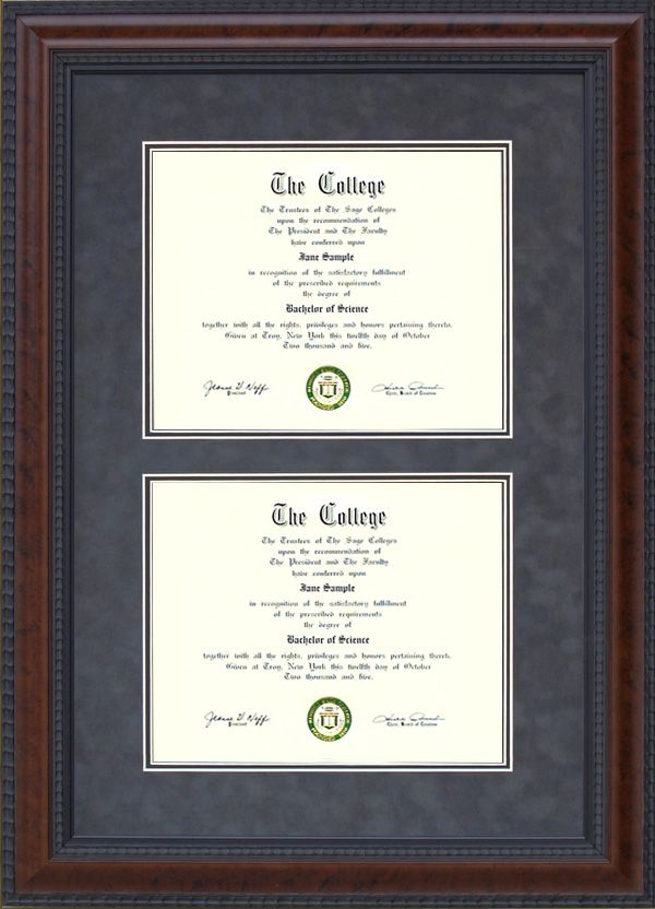 University of North Texas Diploma Frame