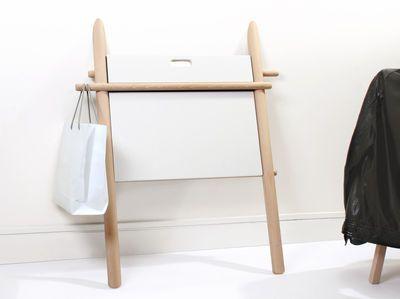 Bureau Appunto pliable Table dappoint Htre plateau blanc