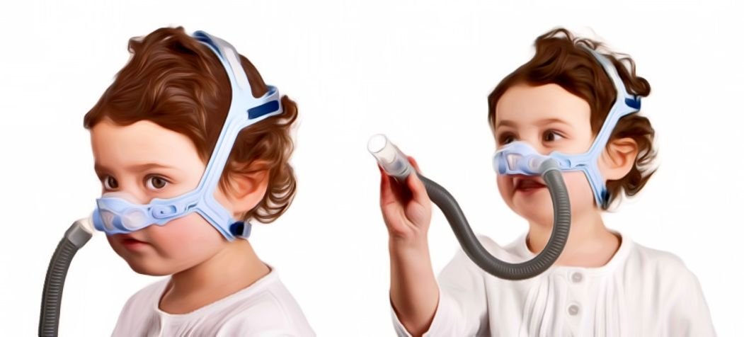 ResMed Pixi Pediatric Nasal CPAP Mask with Headgear | CPAP Child