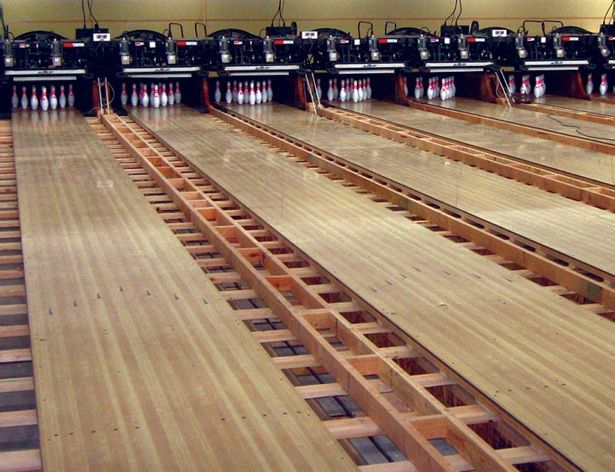 Bowling Alley Construction : New bowling alley construction