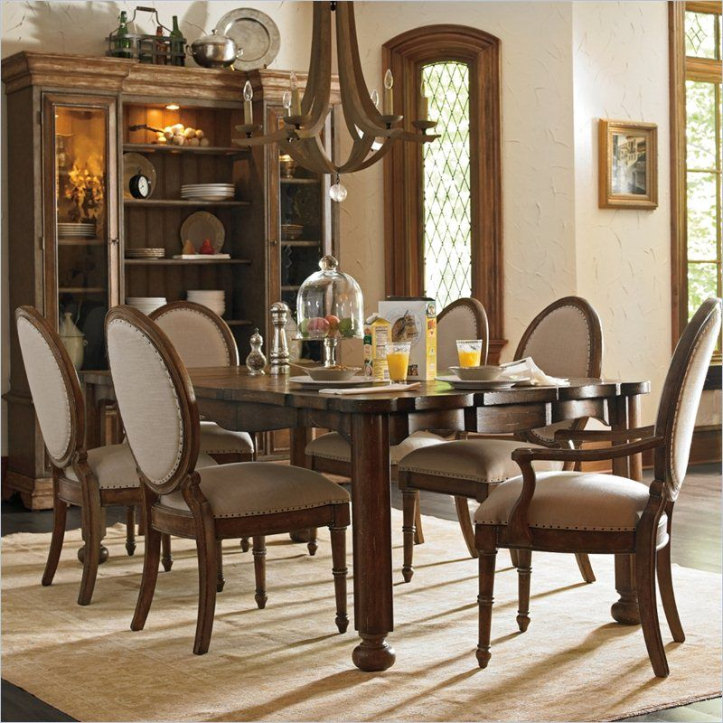 European Farmhouse  Farmer's Market Table In Blond  0186132 Enchanting Stanley Furniture Dining Room Set 2018