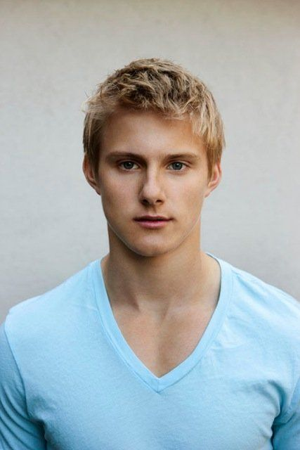 Alexander Ludwig Blond Hair And Blue Eyes Is Usually Such A