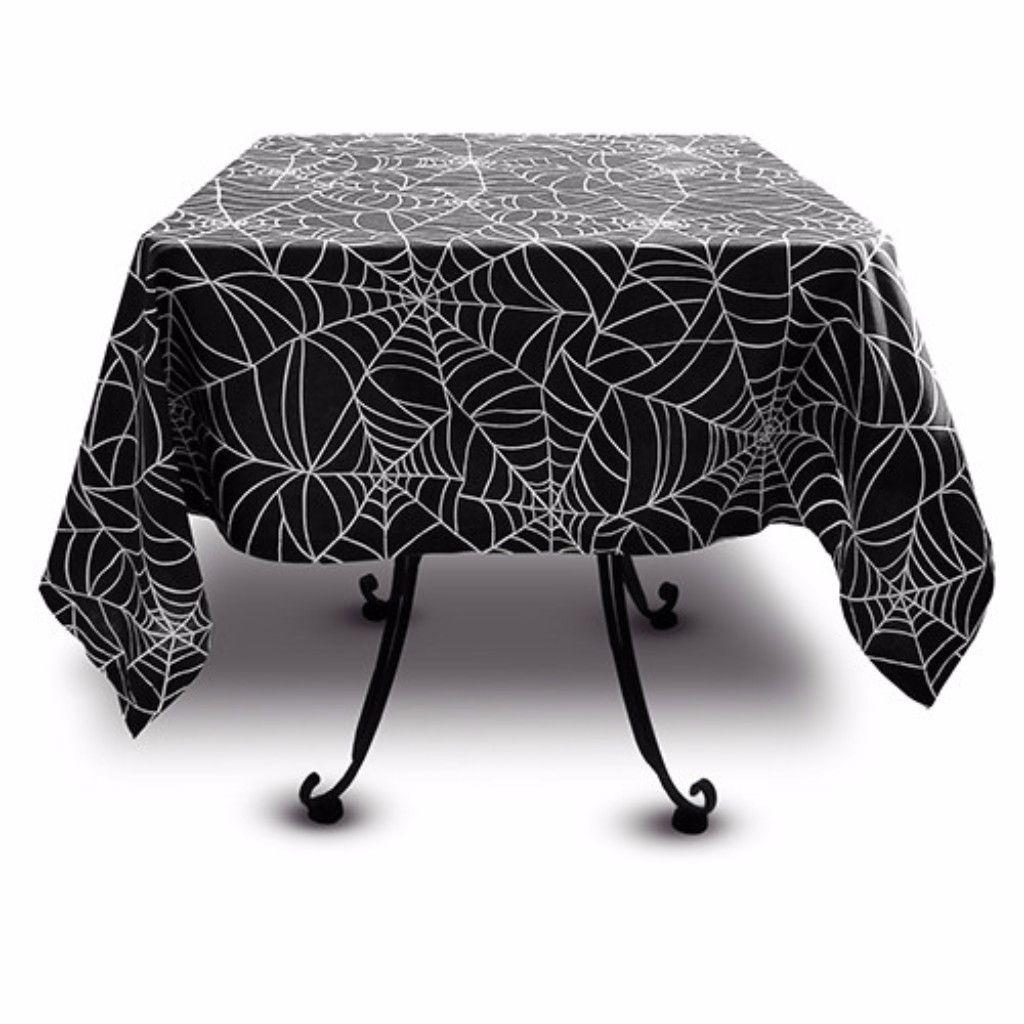 Captivating Spider Web Tablecloths
