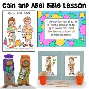 Cain And Abel Crafts And Games For Childrens Ministry And Sunday