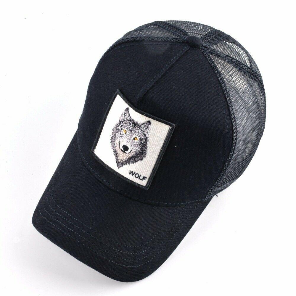 8 Kinds Of Embroidery Animal Baseball Caps Men Breathable Mesh Snapback Caps Ebay Snapback Cap Baseball Cap Mesh Baseball Cap