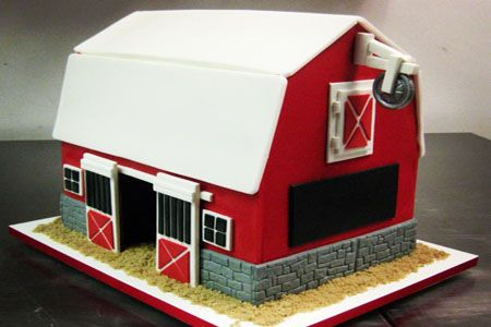 Image Result For How To Make A 3d Barn Cake Barn Cake Decorating Tutorial Cake Decorating Tutorials