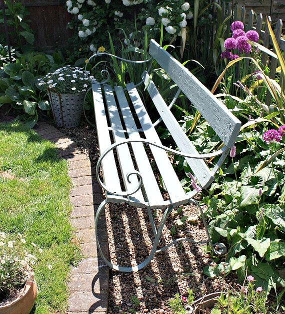 Garden Bench / Bench /Garden /Vintage / Garden Decor / Outdoor Bench