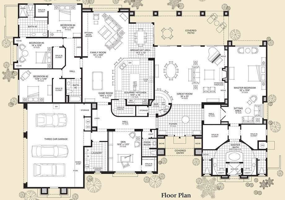 Family room and game room is for sewing and fabric. Bedrooms 3 and 4 are Tina sleeping and sitting rooms.