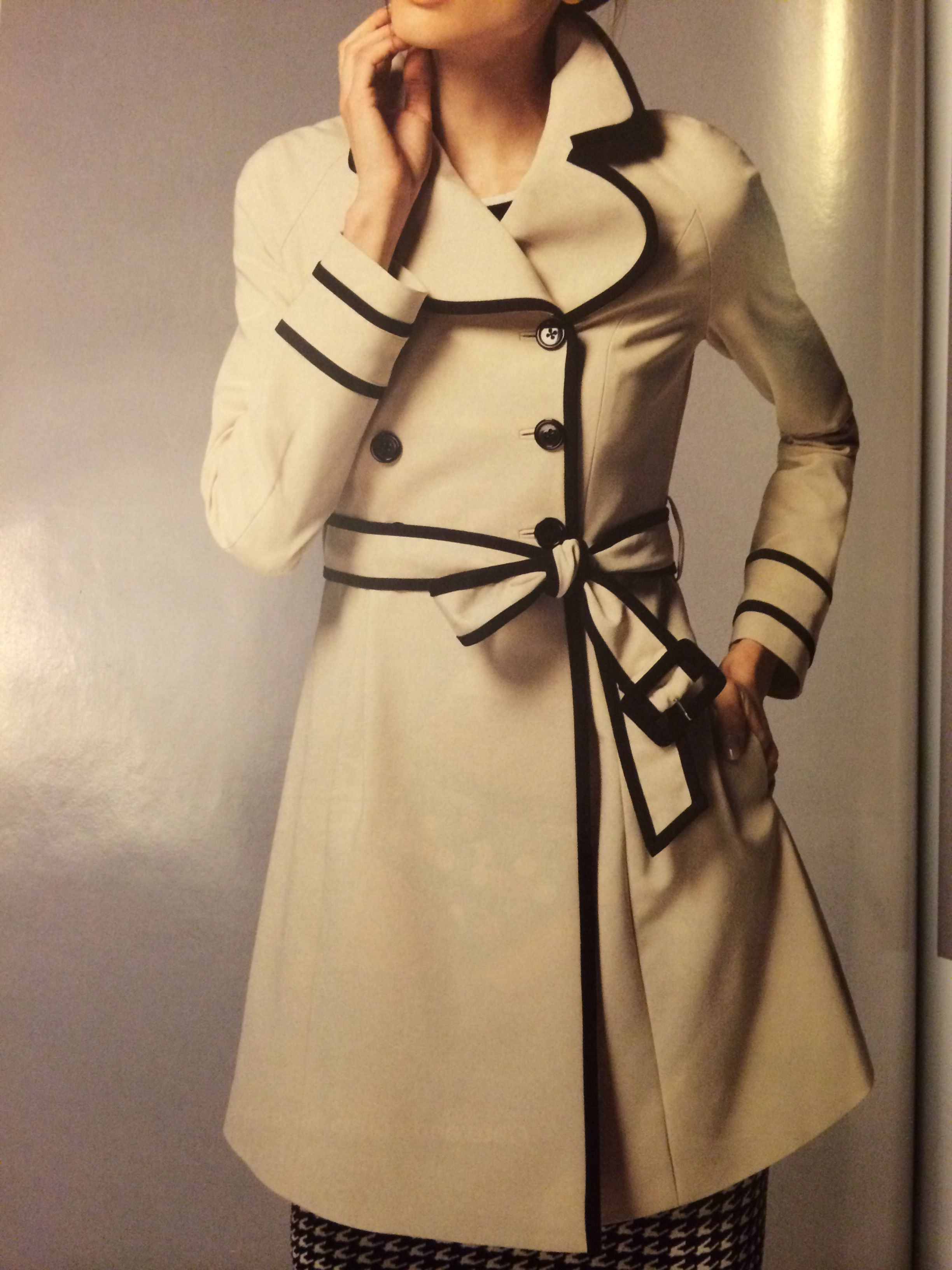Elle Trench Coat At Kohl S Fashion Coat Trench Coat [ 3264 x 2448 Pixel ]