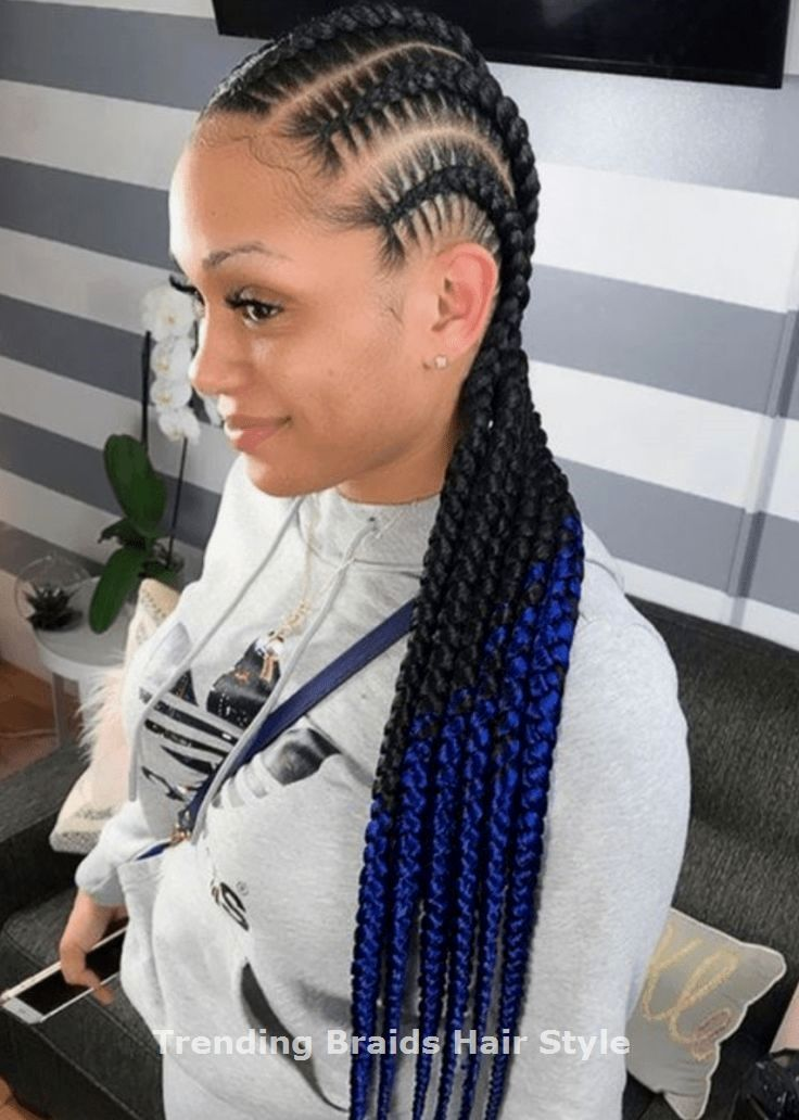 Good Totally Free braided hairstyle afro Thoughts The braid…everyone's popular straightforward