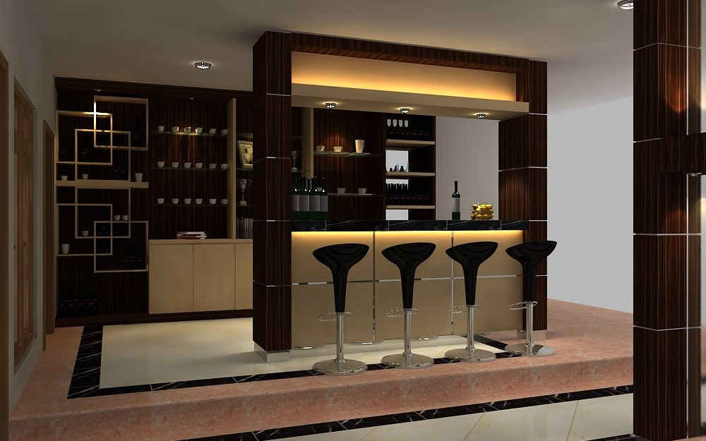 mini bar kitchen Small Kitchen Interior Design with Mini bar Table  Mini bar  Kitchen bar