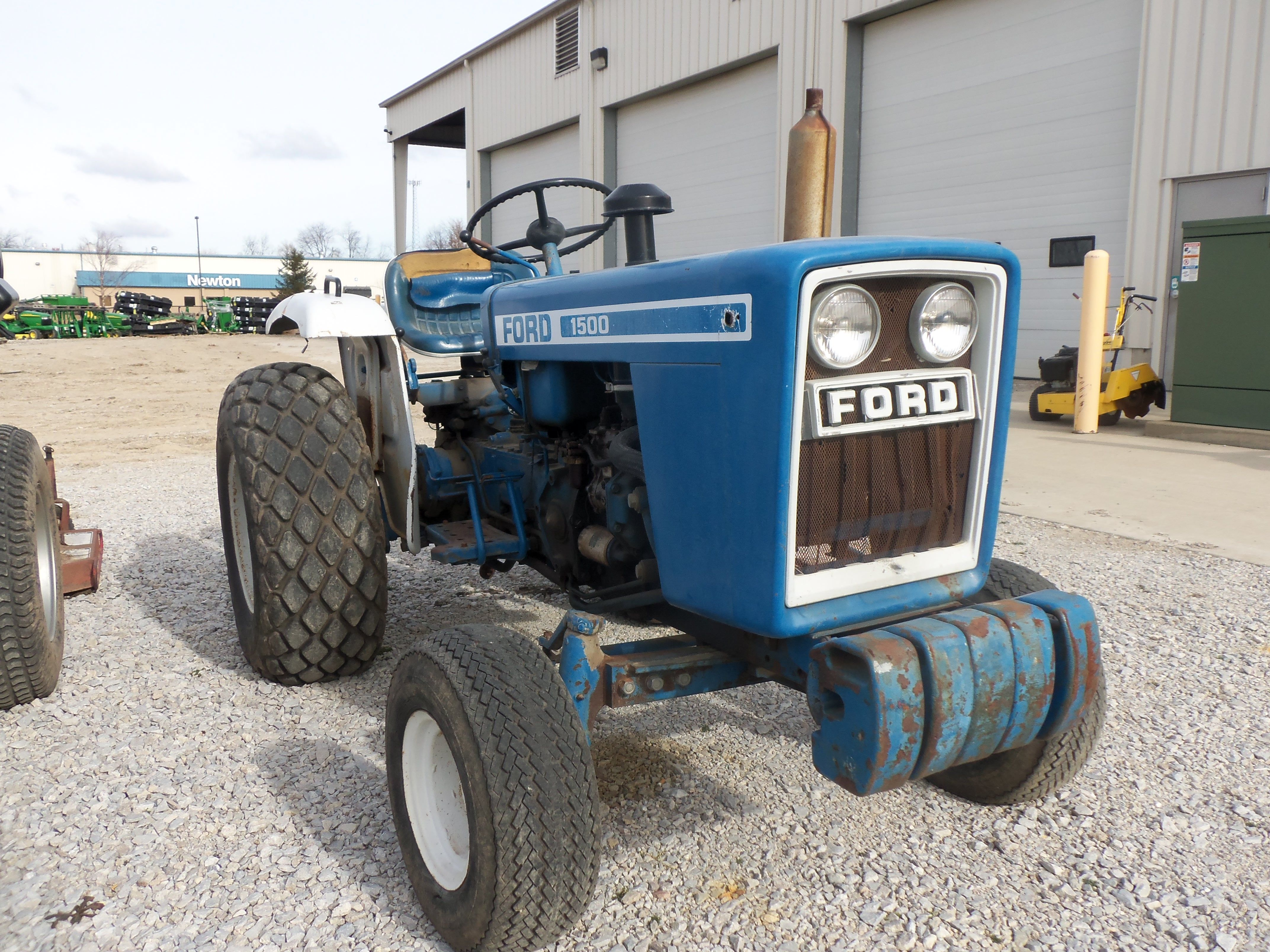 medium resolution of ford 1500 compact diesel tractor