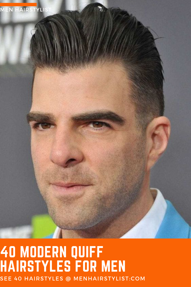 40 Quiff Hairstyle Ideas To Try Out For A Bolder Look Quiff Hairstyles Hair Styles Curly Hair Trends