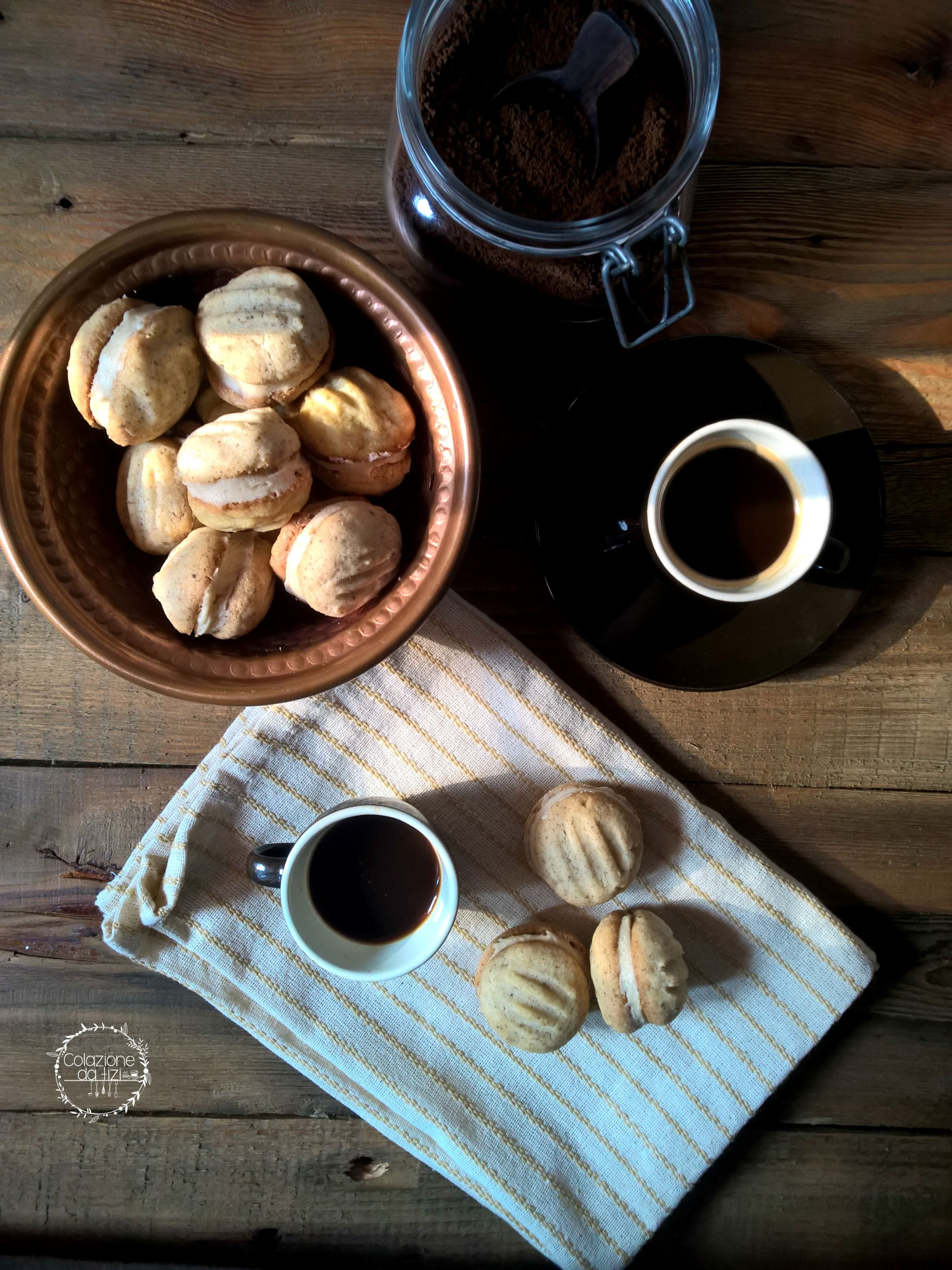 Melting moments al caffè Ricetta Biscottini, Ricette