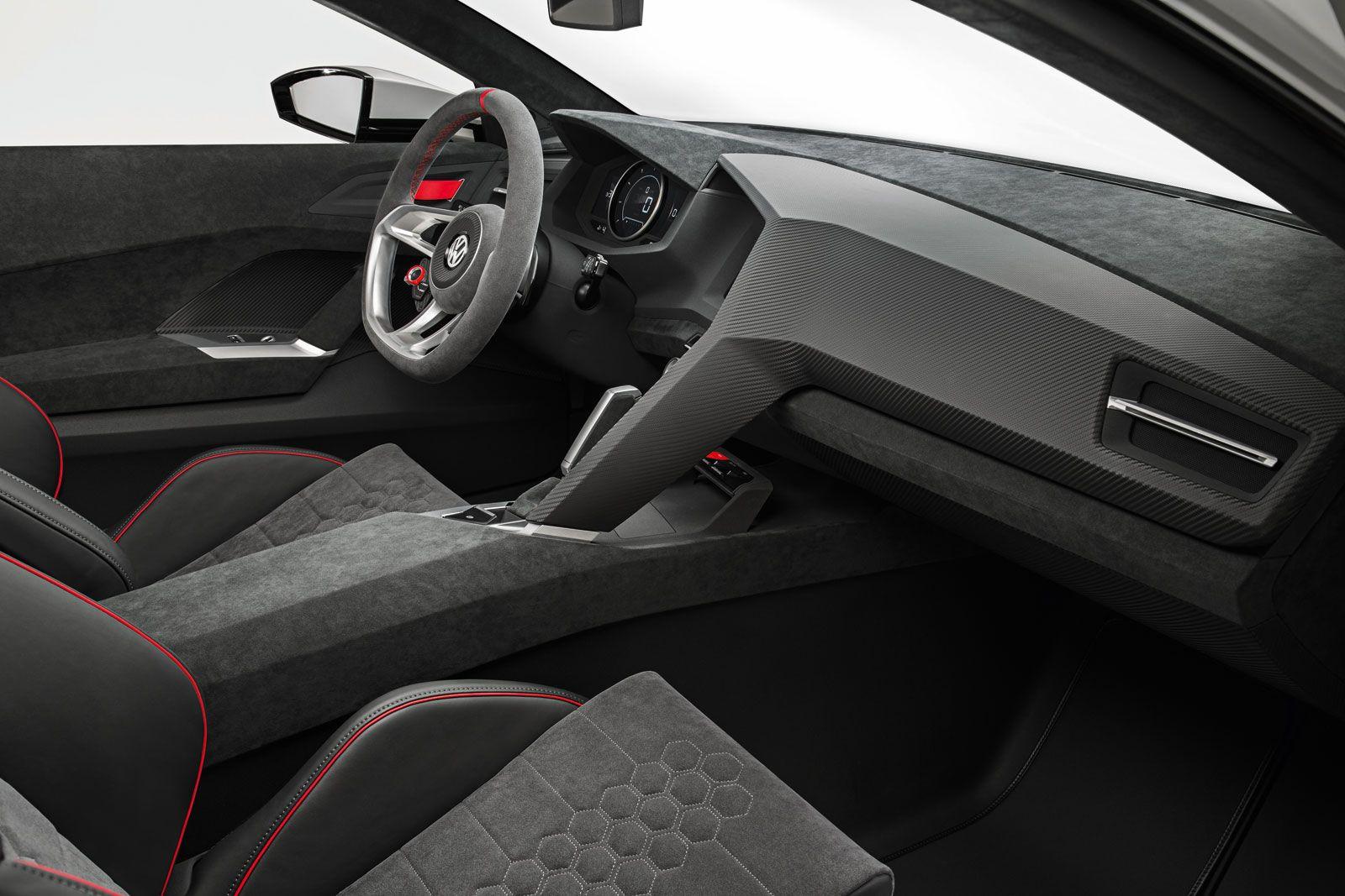 Volkswagen Design Vision Gti Concept Interior Car Body Design Volkswagen Volkswagen Interior Gti Car