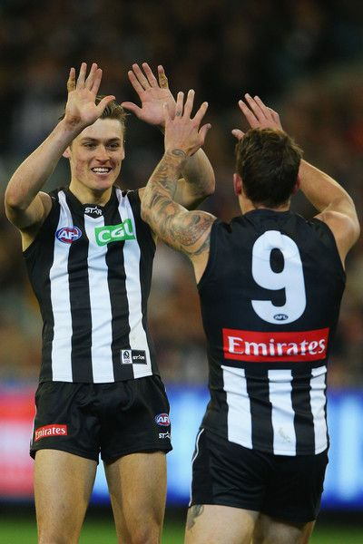 Darcy Moore Photos Photos Afl Rd 22 Geelong V Collingwood Collingwood Football Club Afl Collingwood