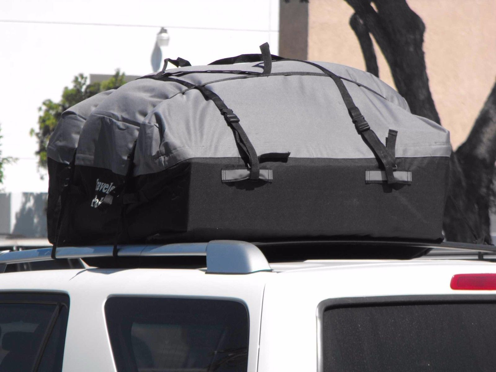 Car Van Suv Roof Top Cargo Rack Carrier Weather Resistant Soft Sided Travel Bag In Sporting Goods Outdoor Sports Camping Hiking Ebay