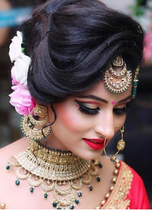 Indian Wedding Style Indian Bridal Hairstyles Indian Wedding Makeup Best Bridal Makeup