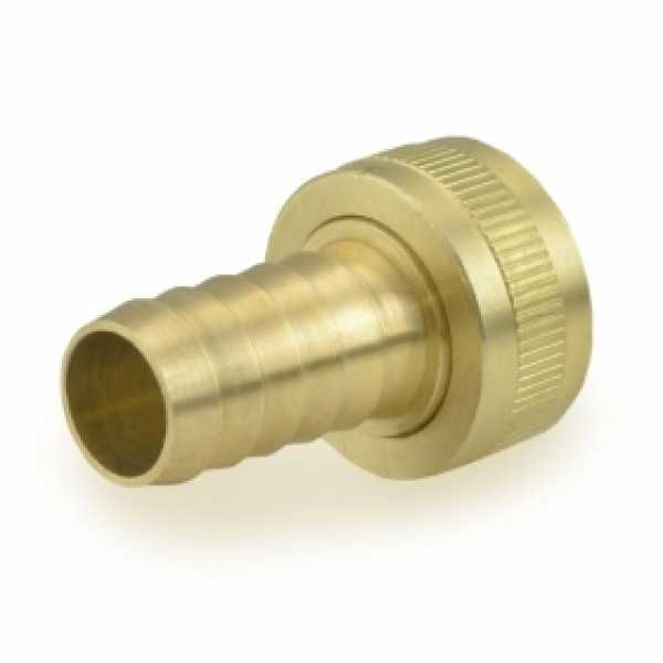 BrassCraft FGH X Hose Barb Swivel Adapter (for Vinyl, PVC And Other Hoses).  Made From Lead Free Brass And Approved For Potable Water Use.