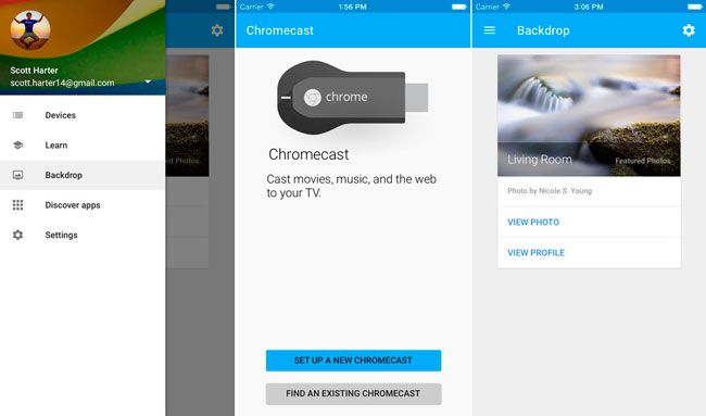 Google actualiza la app de Chromecast para iPhone y iPad