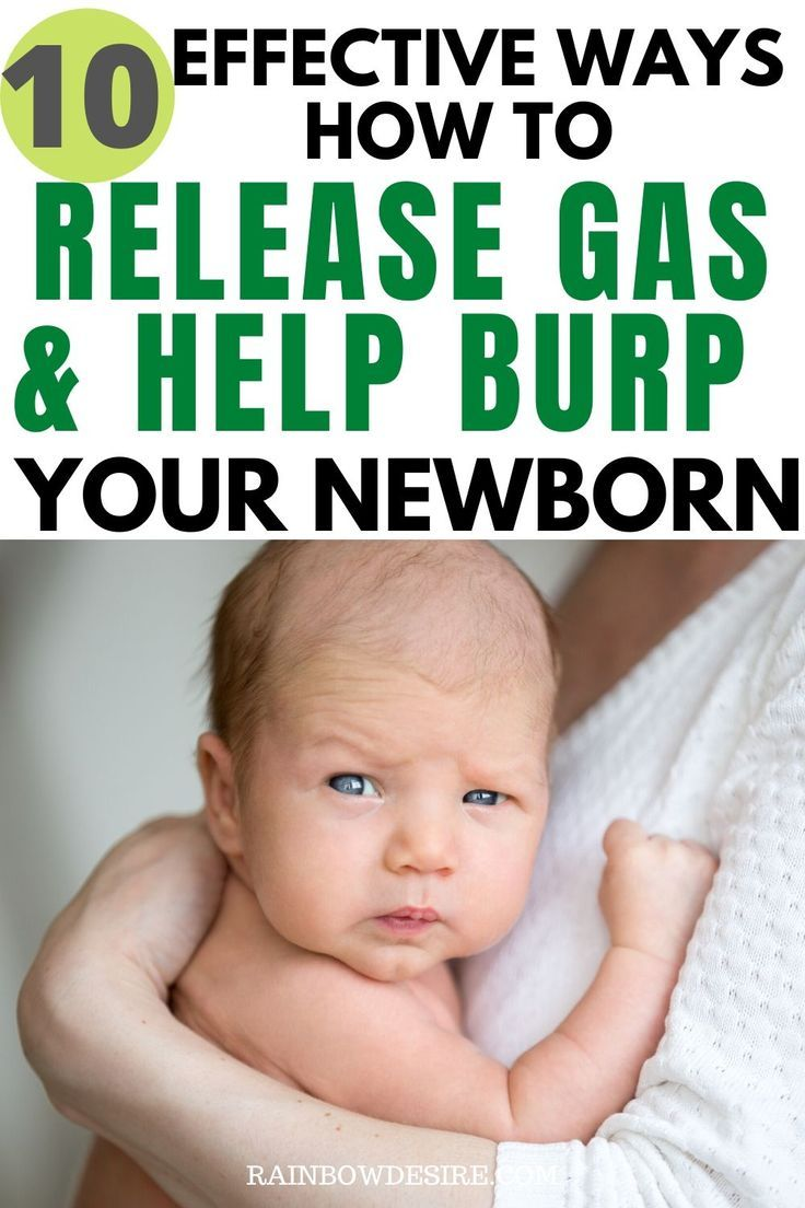 Gas issues in babies - Effective ways to help relieve gas ...