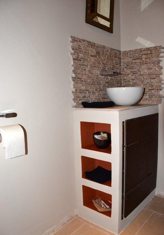 Ma onn en siporex a faire toilettes salle de bain et douche - Siporex salle de bain ...