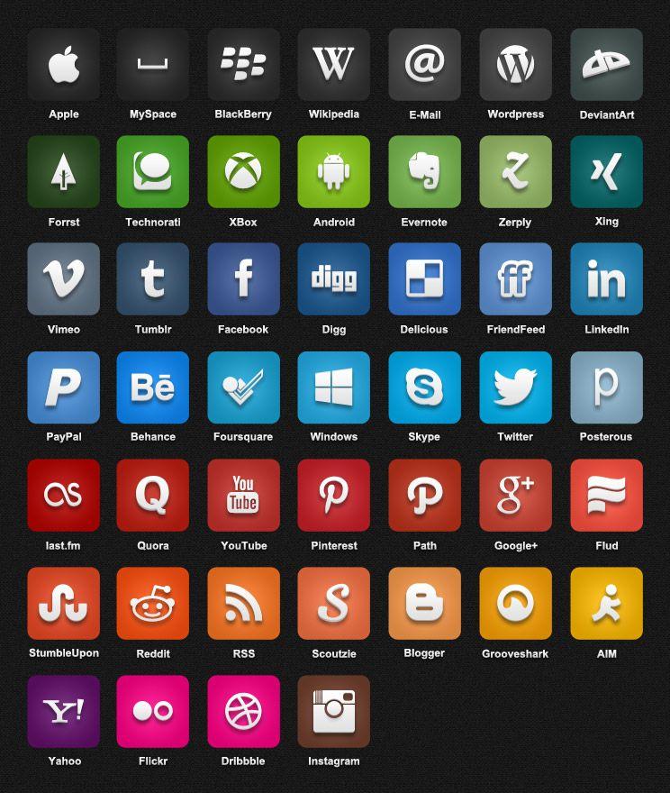 50C1AL - Free Social Icon Pack