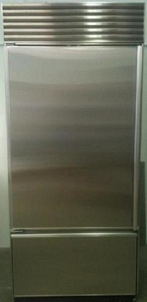 Stainless Steel Panels For Sub Zero 650 550 Refrigerators Nationwide Fridge Paneling