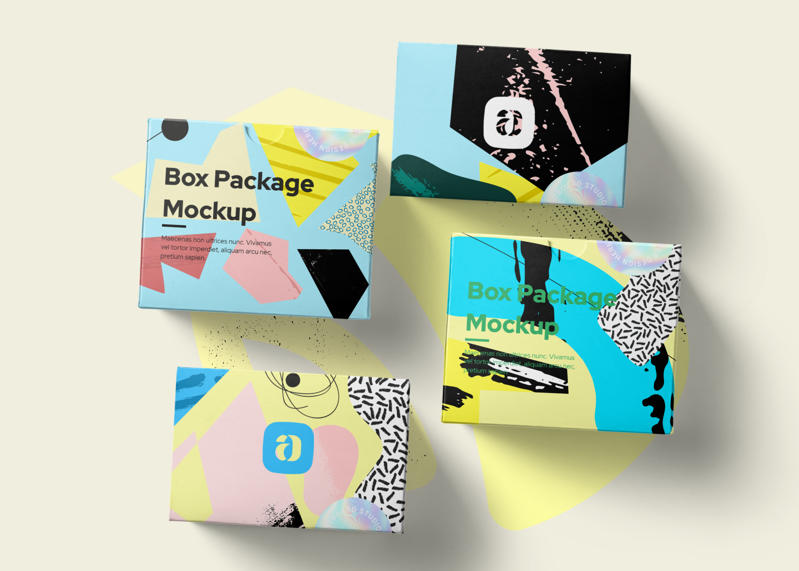 Download Box Package Mockup Scene Box Packaging Packaging Templates