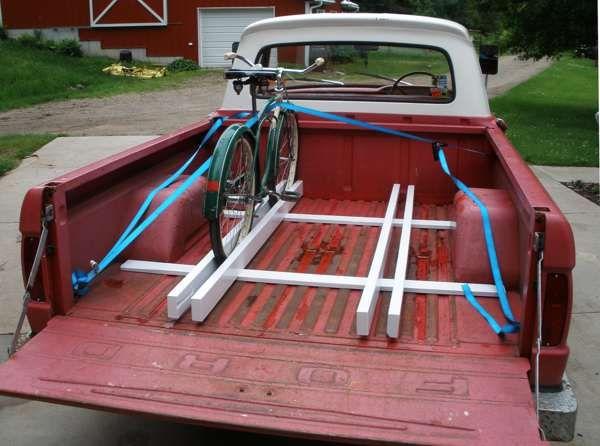 DIY bike rack for truck bed - Google Search   Bike Course ...