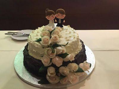 Topo de bolo de casamento em feltro!