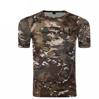 Camouflage T-Shirt Vintage Military Camo Tee Shirt S M L XL 2XL 3XL Men/'s