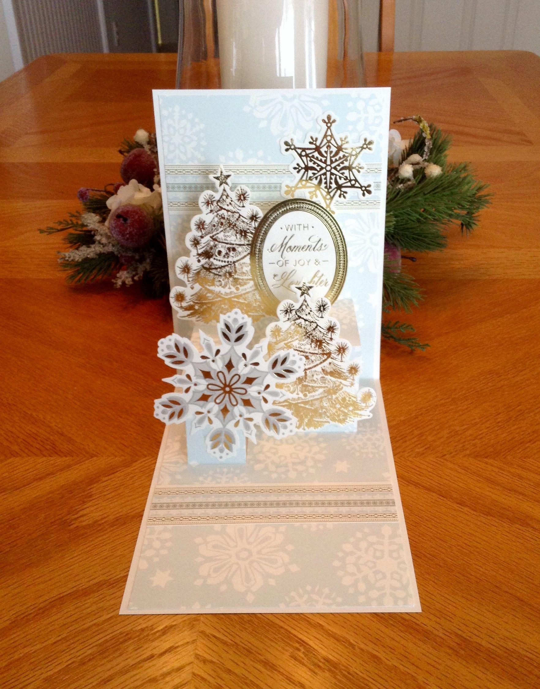 cardvickie blakeslee ag pop up christmas card kit