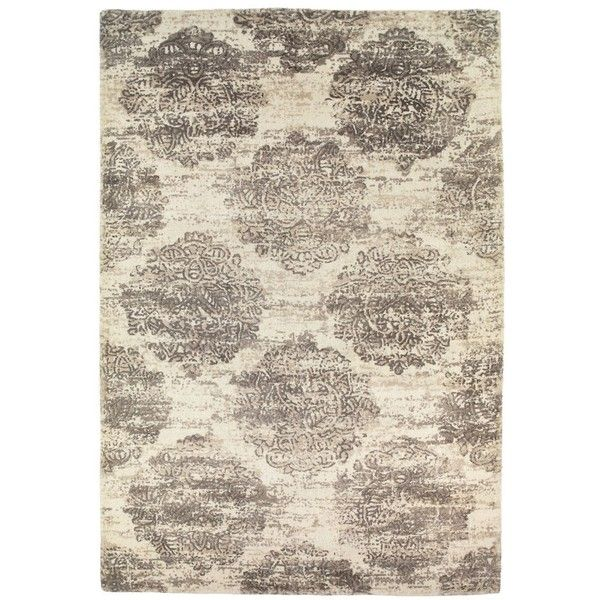 Bellarto Rug Ivory and Beige ($450) ❤ liked on Polyvore featuring home, rugs, designer rugs, beige rug, ivory area rug, cream rug, cream colored area rugs and hand woven rugs