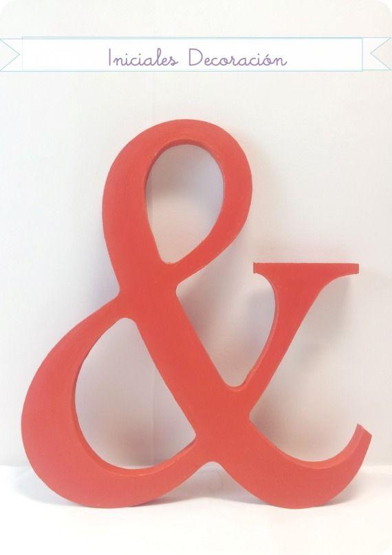 Letras de madera bodas accesorios bodas reci n for Accesorios de decoracion