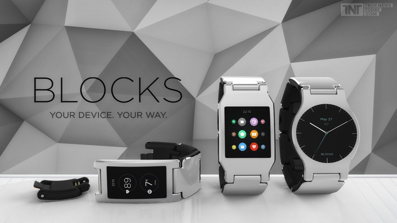 Blocks Wearables Will Let You Build Your Own Smartwatch