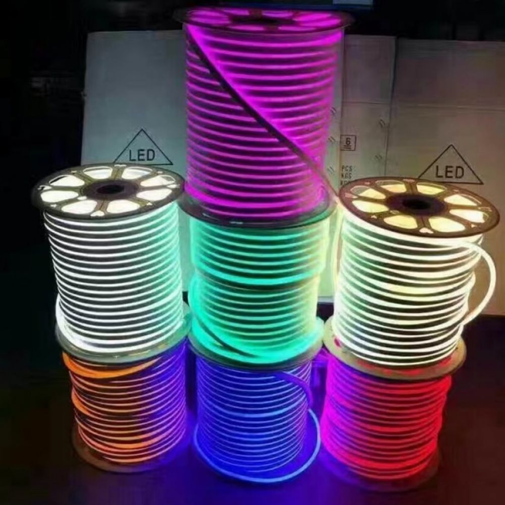 Dc 12v 24v Led Neon Rope Light Smd 2835 120leds M Waterproof Flexible Soft Strip Bar Lights 3 6leds Cuttable 1m 5m 20m 50m 10 Rope Light Bar Lighting Strip Bar