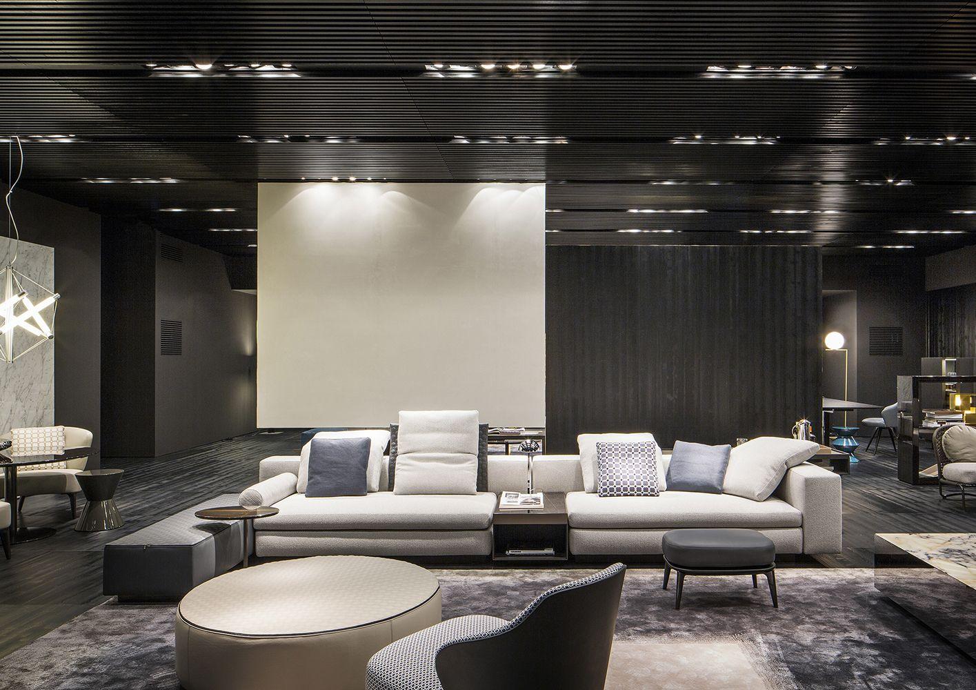 Italian Design Living Room Yang Seating System Rodolfo Dordoni Design Minotti Pinterest