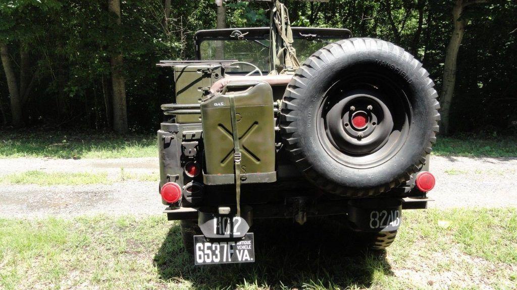 1955 Jeep Willys M38a1 Dengan Gambar