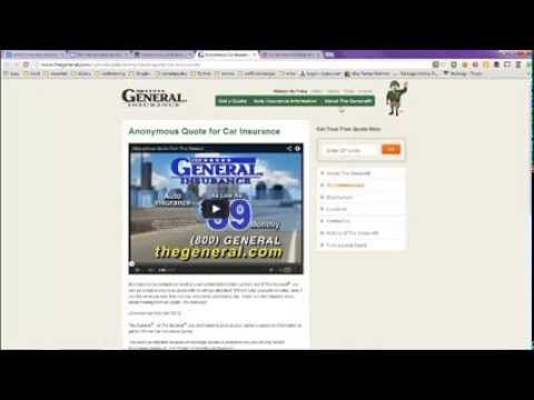 The General Insurance Quote Impressive Get A Free Car Insurance Quote Online Without Personal Information