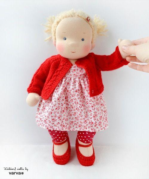 14 (36 cm) Waldorf baby doll