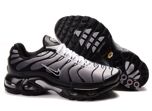 new arrival 13cd1 346df Danmark Billige Nike Air Max Tn Trainers Mænd - GreyBalck Logo