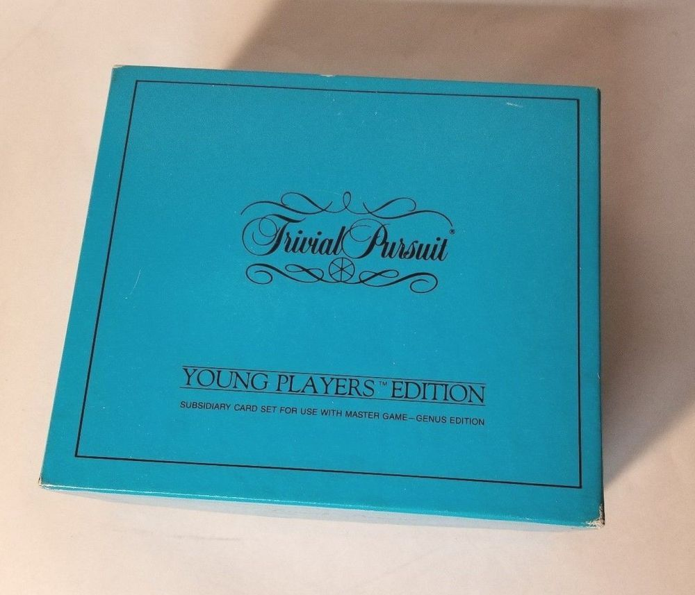 Trivial Pursuit Young Player Edition 1985 Subsidized Extra