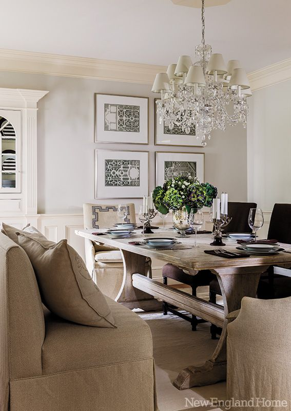 gorgeous dining area! | Dining Room | Pinterest | Nouvelle ...