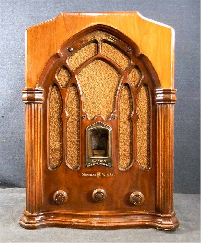 RCA R-71 tombstone 1933 sold by the famous Seattle