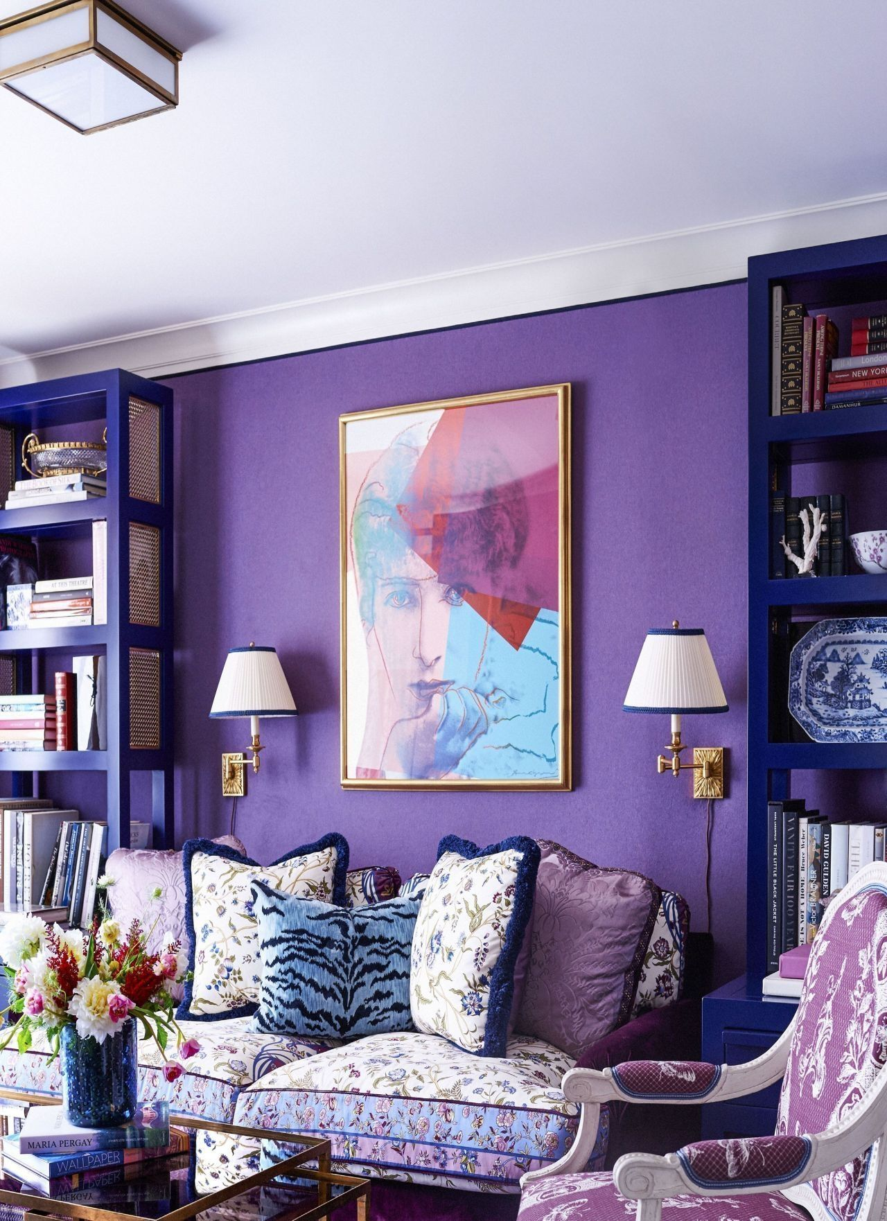 44 modern living room ideas with purple color schemes on living room color ideas id=13851