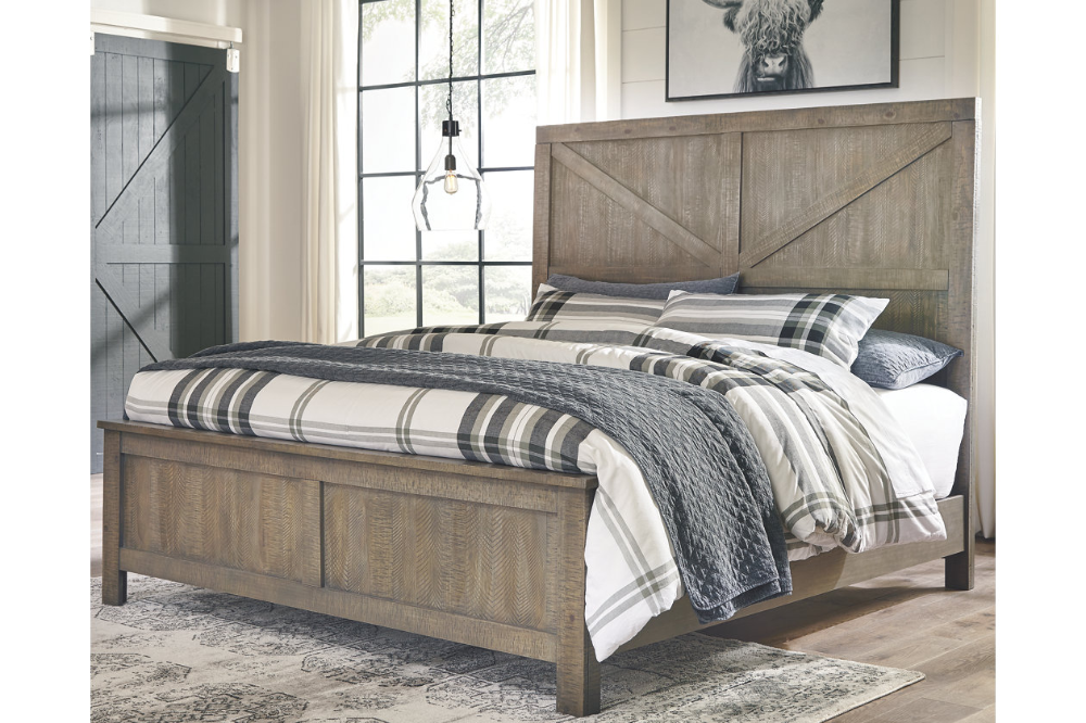 Aldwin Queen Panel Bed Ashley Furniture Homestore Panel Bed