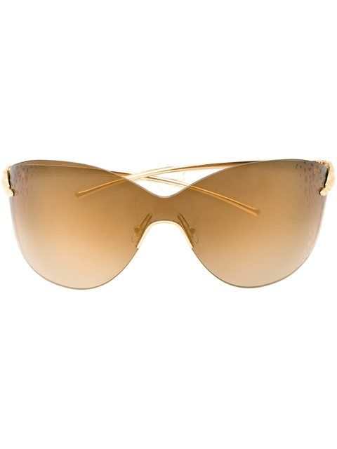 90f55687a58 Shop Cartier  Panthère Mask  sunglasses in André Opticas from the world s  best independent boutiques at farfetch.com. Shop 400 boutiques at one  address.