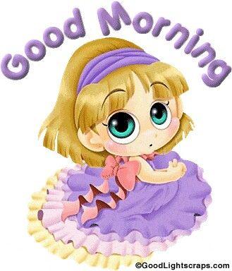 Good Morning Doll Coffee Morning Greetings Good Morning